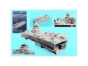 Daron Aircraft Carrier 3D Puzzle - 60 Pieces