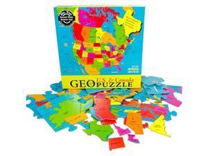 Geo Puzzle US and Canada