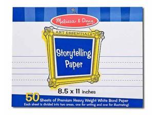 "Melissa & Doug Storytelling Paper Pad (8.5""x11"")"