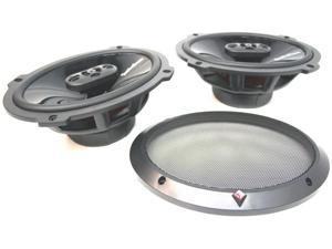 "ROCKFORD FOSGATE P1694 NEW 6"" X 9"" PUNCH 4-WAY FULL RANGE CAR AUDIO SPEAKER"