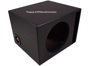 CAR AUDIO SINGLE 10 PORTED RHINO SUBWOOFER ENCLOSURE BASS STEREO SPEAKER SUB BOX