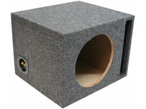 CAR AUDIO SINGLE 15 PORTED 3/4 MDF SUBWOOFER ENCLOSURE SPEAKER BASS SUB BOX