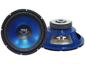 PYLE CAR AUDIO PLW10BL NEW 10 INCHES MOBILE CAR SUBWOOFERS 600 WATTS - BLUE