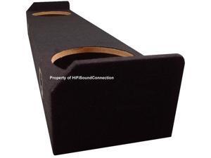 CUSTOM HONDA RIDGELINE 05-12 TRUCK DUAL 10 SUBWOOFER BOX SUB SPEAKER ENCLOSURE