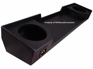 CUSTOM GMC SIERRA EXT CAB 88-98 TRUCK DUAL 12 RHINO SUBWOOFER ENCLOSURE SUB BOX