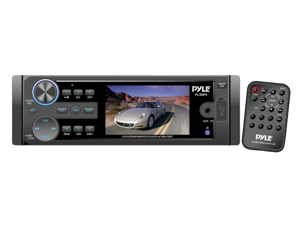 """Pyle 3"""" LCD Monitor Car Audio MP3/SD/USB Player with Radio"""