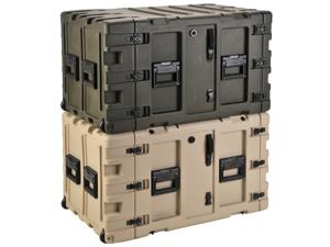 """SKB CASES 3RR-11U24-25B 11U 24"""" DEEP REMOVABLE SHOCK RACK & TRANSPORT CASE NEW"""