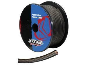 KICKER 09PWG8200 CAR AMPLIFIER 5 FT AMP 8 GAUGE GRAY POWER WIRE OR GRAY WIRE