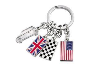MINI COOPER Flag Key Chain