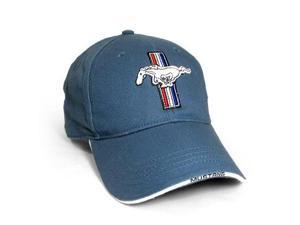 Ford Mustang Logo Blue Baseball Hat