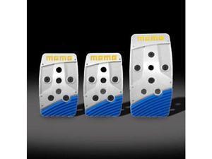MOMO Stealth Blue Aluminum Pedal Covers