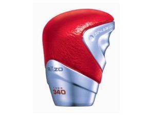 RAZO RA96RE GT Advance Red Leather Shift Knob