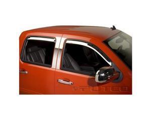 Chevrolet Silverado, Suburban, Avalanche Chrome Window Visors