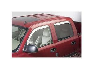 Chevrolet Silverado, Suburban, Avalanche Element Chrome Window Visors