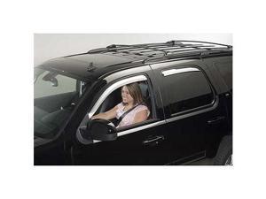 Chevrolet 2007 to 2011 Tahoe Element Chrome Window Visors