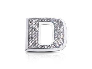 Crystallized Letter D Car Emblem