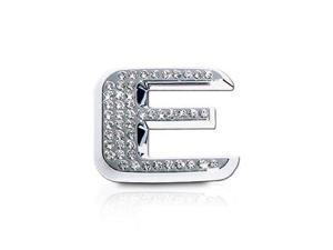 Crystallized Letter E Car Emblem
