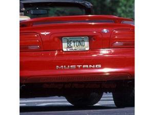 Ford Mustang 1994 to 1998 Rear Bumper Letters Insert, Chrome