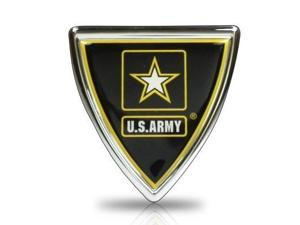 United States Army Shield Color Metal Auto Emblem