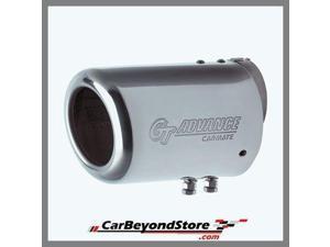 Chrome JDM GT Advance Exhaust Muffler Tip
