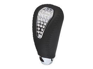LUXIS LS141 Gate AT Black Leather Shift Knob