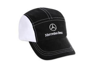 Mercedes-Benz Black and White Runners Cap