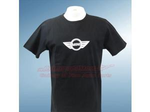 MINI Cooper Men's Logo Black Shirt, Large
