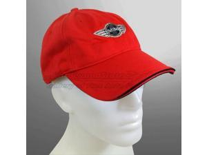 MINI Cooper Logo Red Baseball Cap
