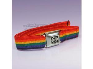 Nissan Logo Seat-belt Buckle Rainbow Belt