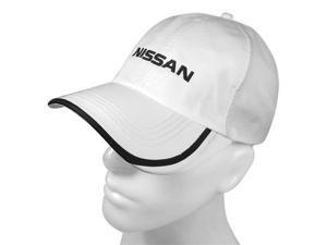 Nissan White Dry Insert Baseball Cap