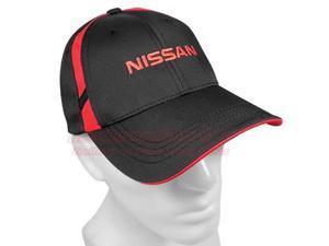 Nissan Black Dry Zone Mesh Insert Baseball Cap
