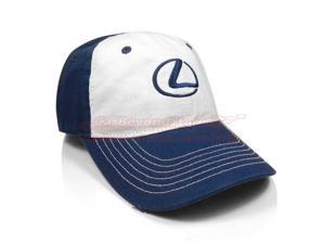 Lexus White Blue Boys Baseball Cap