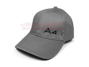 Audi A4 Logo Gray Model Baseball Cap
