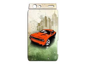 American Muscle Car Challenger Vinyl Cell Phone Skin for Motorola Droid RAZR