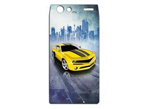 American Muscle Car Camaro Vinyl Cell Phone Skin for Motorola Droid Razr Maxx