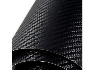 "3M Black Carbon Fiber Textured Scotchprint Vinyl Film, 12""x 12"""