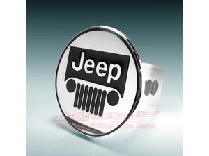 Jeep Front Grille Logo Tow Hitch Cover Plug