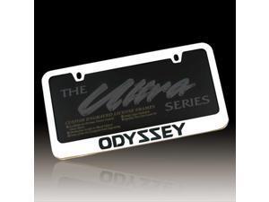 Honda Odyssey Chrome Metal License Frame