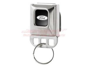 Ford Oval Logo Large Seatbelt Buckle Key Chain