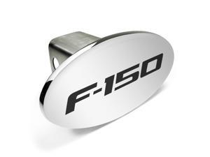 Ford F-150 Metal Chrome Trailer Tow Hitch Cover with Locking