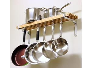 Cook N Home 36 inch Wall Mount Pot Rack