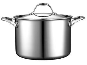 Cook Standard Multi-Ply Clad 8-QT Stockpot Stainless Steel
