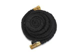 Xhose PRO 75ft Dap Original Expanding Hose Black with Solid Brass Fittings