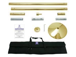X-Pole Xpert Titanium Gold 45mm Xpole Genuine Portable Dancing Pole