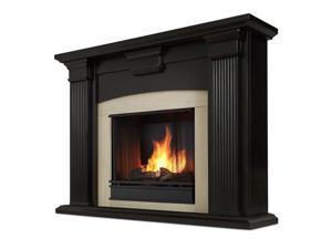 Real Flame Adelaide Indoor Gel Fireplace in Black Wash