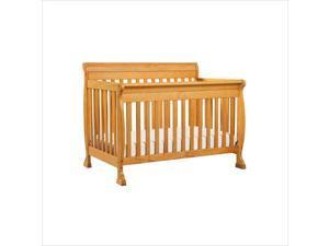 DaVinci Kalani 4-in-1 Convertible Baby Crib with Toddler Rail in Honey Oak