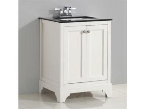 "Simpli Home Cambridge 24""  Bath Vanity in Soft White"
