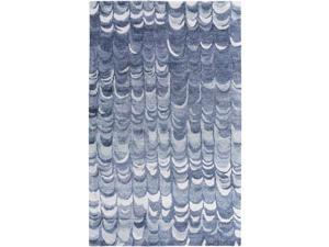 Surya Gemini 5' x 8' Hand Tufted Rug in Blue
