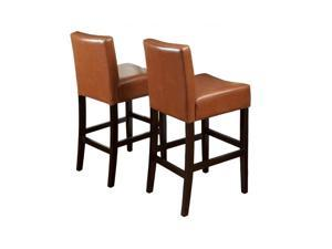 "Trent Home 29"" Rodriguez Bar Stools in Hazelnut (Set of 2)"