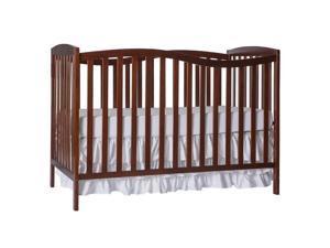 Dream On Me Chelsea 5-in-1 Convertible Crib in Espresso